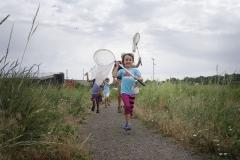 EcoExplorers_Kara Kids running with nets
